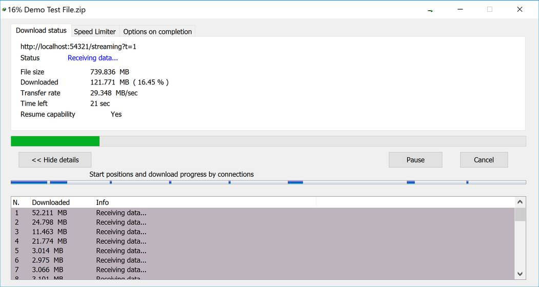 Faster Mega Files download
